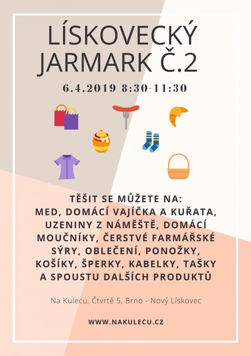 Lískovecký jarmark - duben 2019