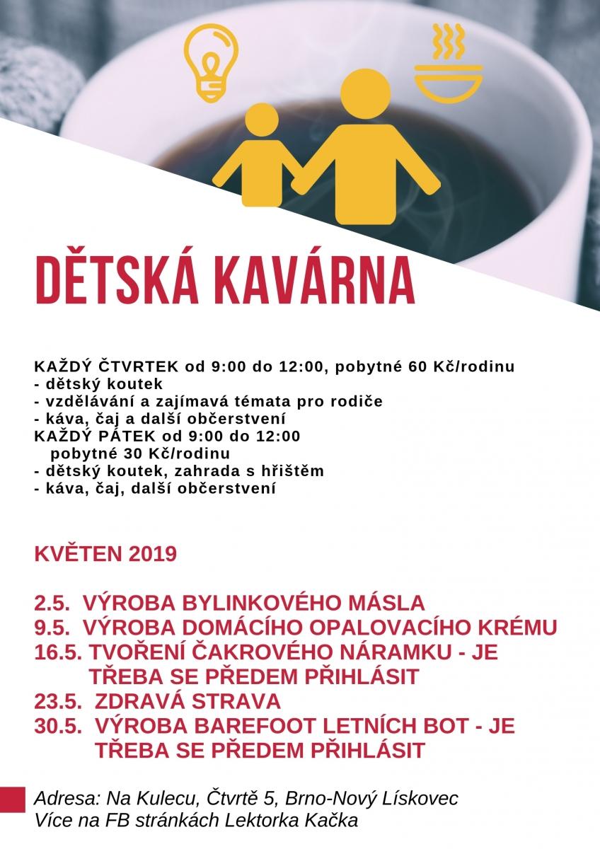 Dětská kavárna v Novém Lískovci